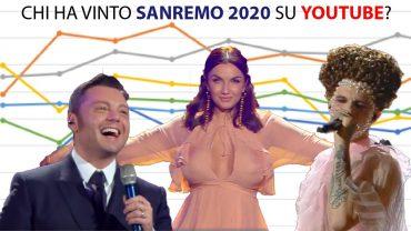 Sanremo2020: analisi dei dati su YouTube