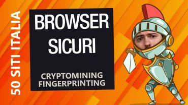 Fingerprinting e cryptomining: cosa sono e come proteggersi